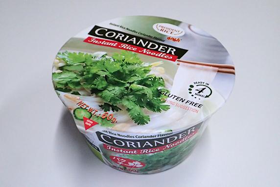 タイのカップ麺を食す