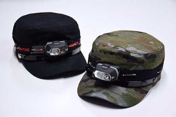 車載用の非常帽子とライトを交換