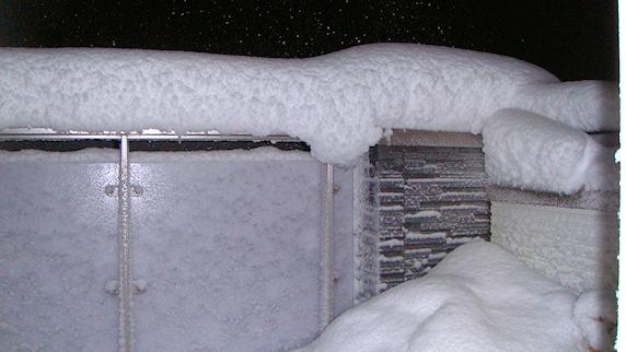 積雪40cmで丸1日雪かき