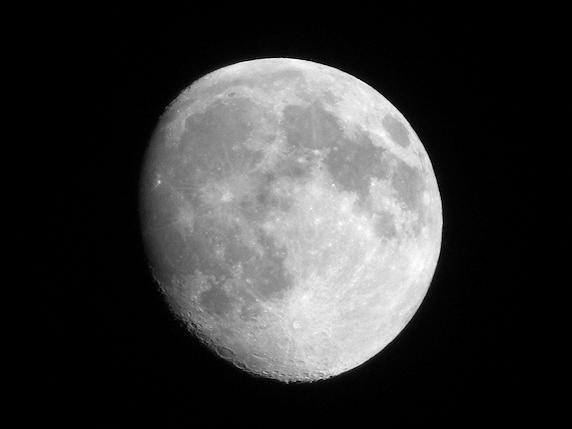 光学35倍で撮る月