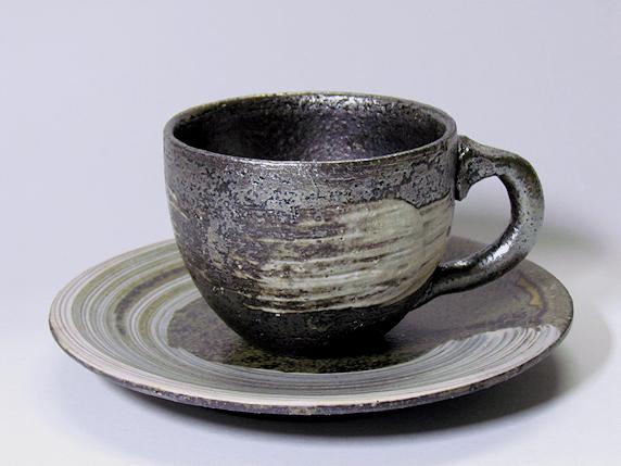 愛用のコーヒーカップ〜信楽焼