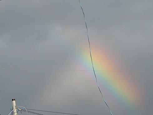 反射光がつくる虹