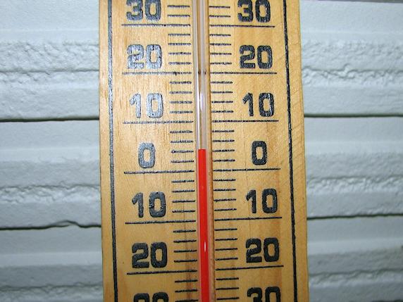 昨夜は4℃