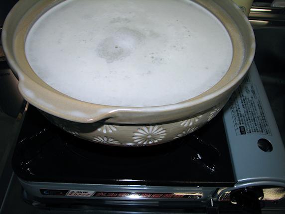 タラ鍋ひとり鍋