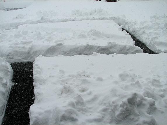 積雪50cm超えのドカ雪