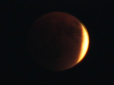 皆既月食撮影