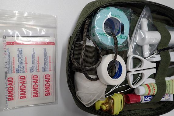 救急箱に湿潤絆創膏を追加