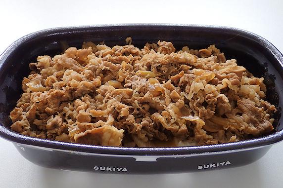 すき家牛丼弁当メガつゆだく