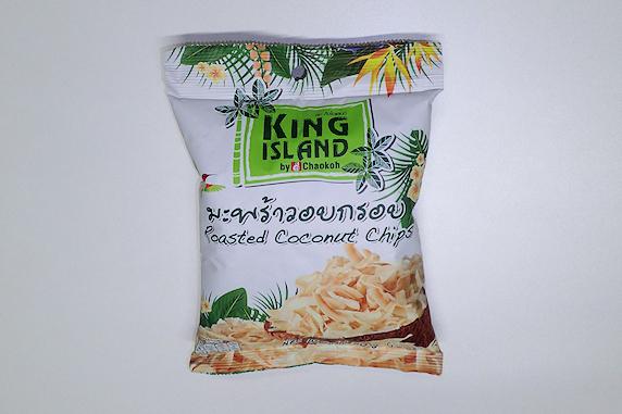 キングアイランドのココナッツチップス