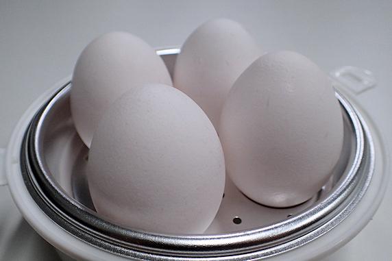 コッコクックでレンジでゆで卵