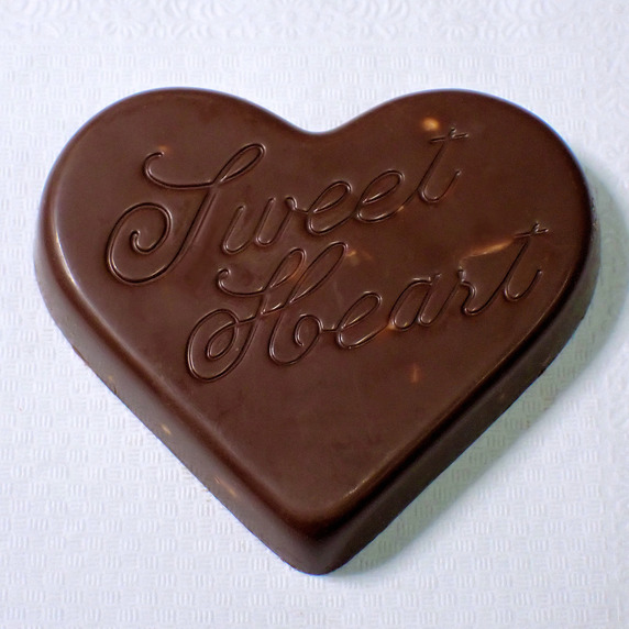 不二家のハートチョコレート